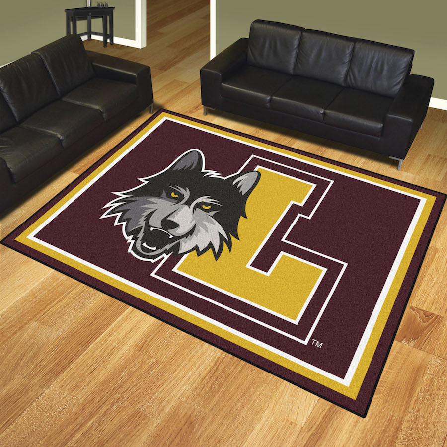 Loyola Chicago Ramblers Ultra Plush 8x10 Area Rug