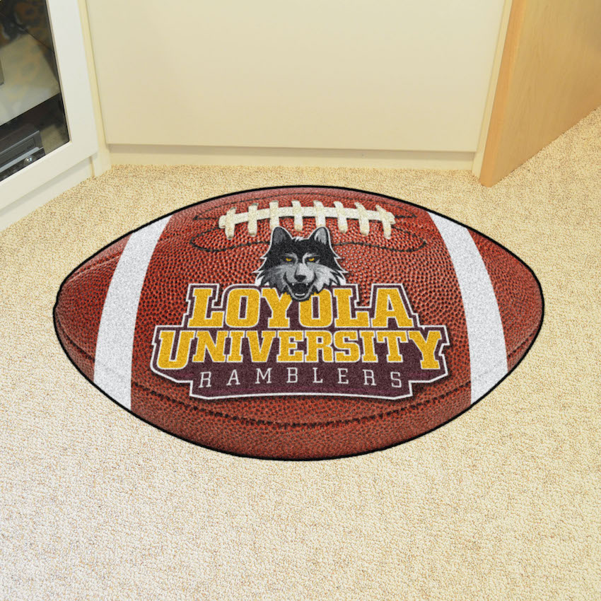 Loyola Chicago Ramblers 22 x 35 FOOTBALL Mat