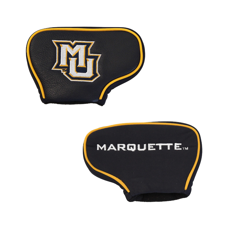 Marquette Golden Eagles Blade Putter Cover