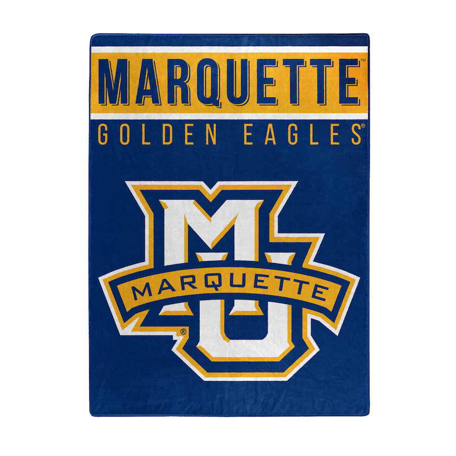 buy popular 0cf52 21a8b Marquette Golden Eagles Large Plush Fleece OVERTIME 60 x 80 Blanket - Buy  at KHC Sports