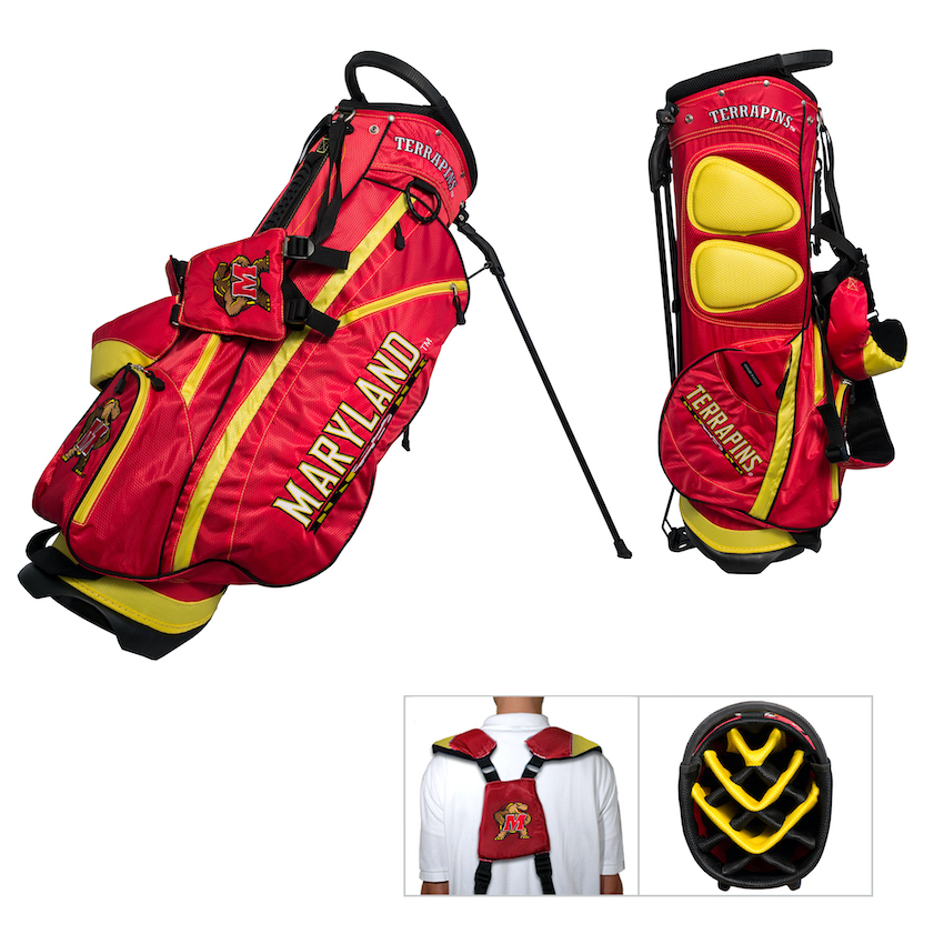 Maryland Terrapins Fairway Carry Stand Golf Bag