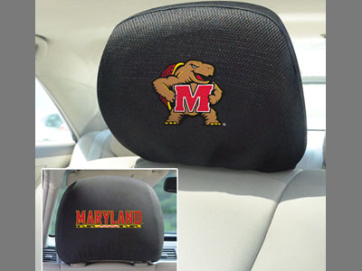Maryland Terrapins Head Rest Covers