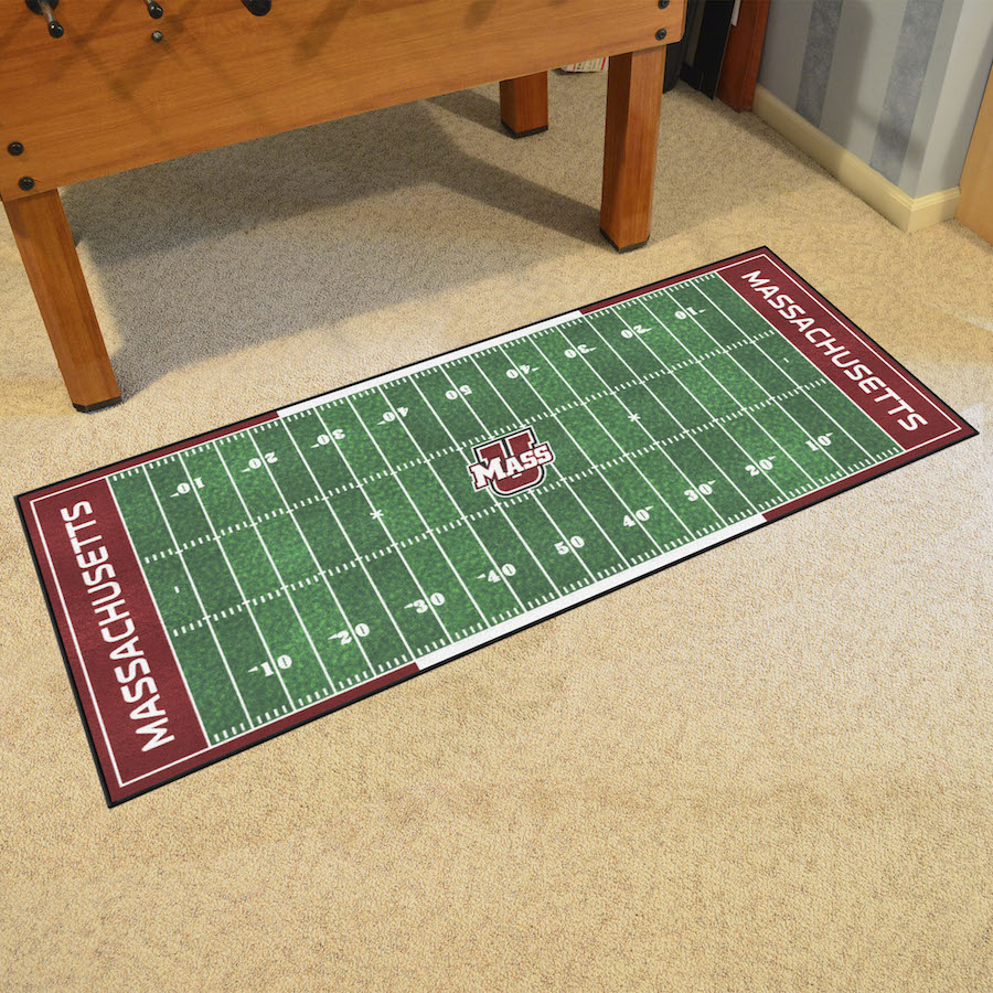 Massachusetts Minutemen 30 x 72 Hockey Rink Carpet Runner