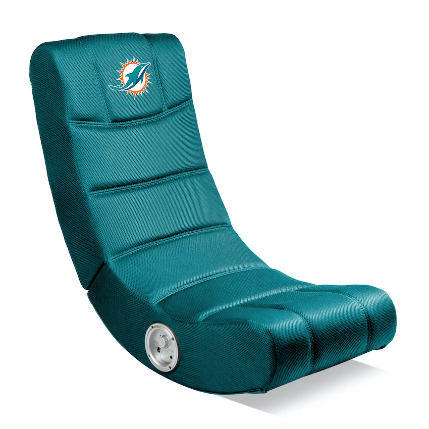 Miami Dolphins Video Gaming Chair with Bluetooth