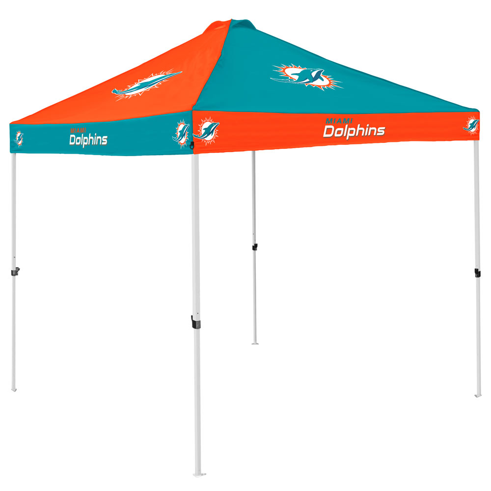Miami Dolphins Checkerboard Tailgate Canopy