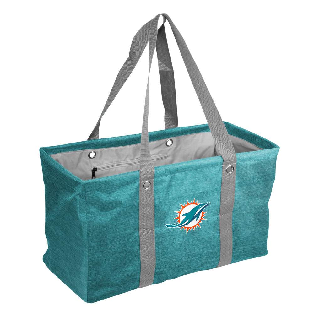 Miami Dolphins Crosshatch Picnic Caddy