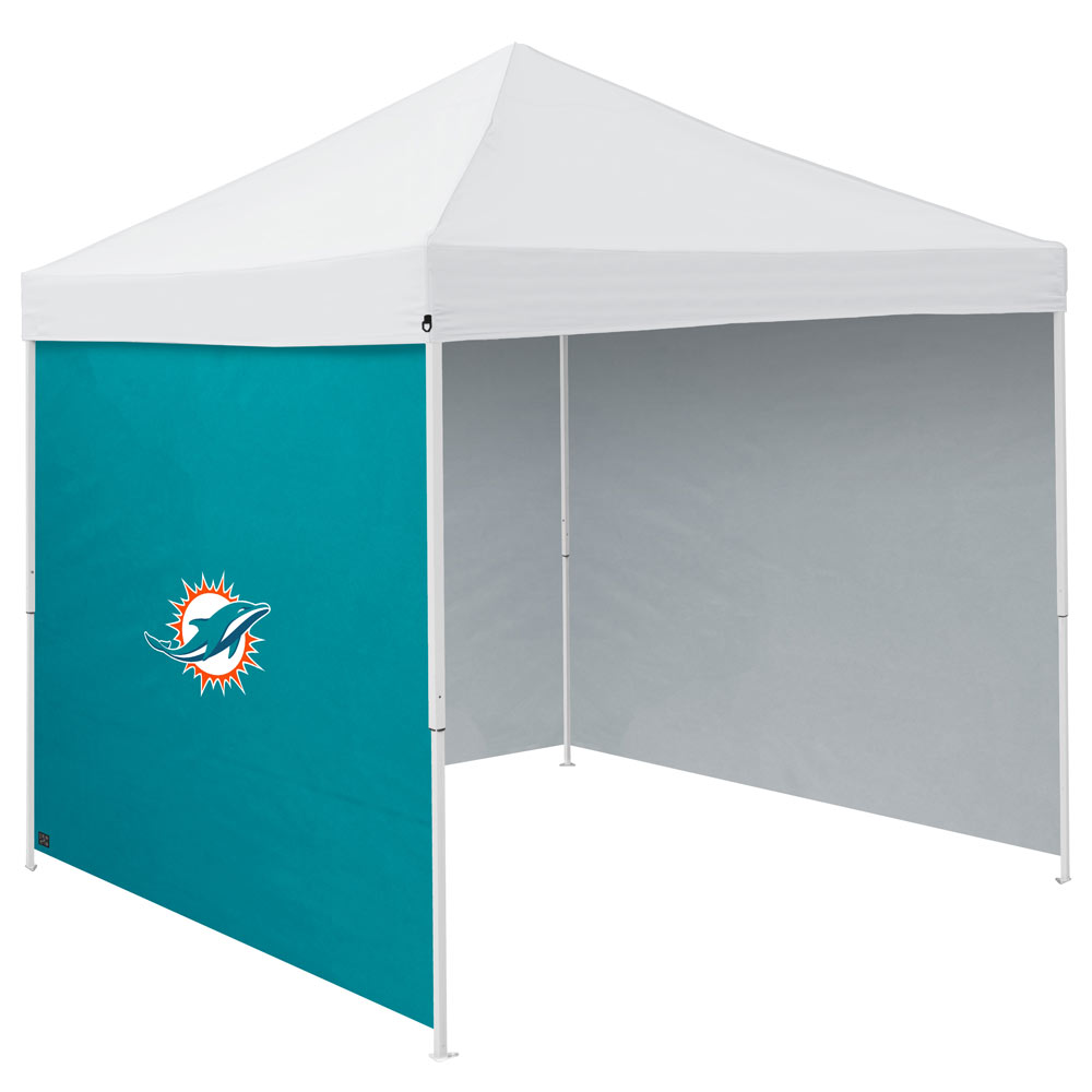 Miami Dolphins Tailgate Canopy Side Panel