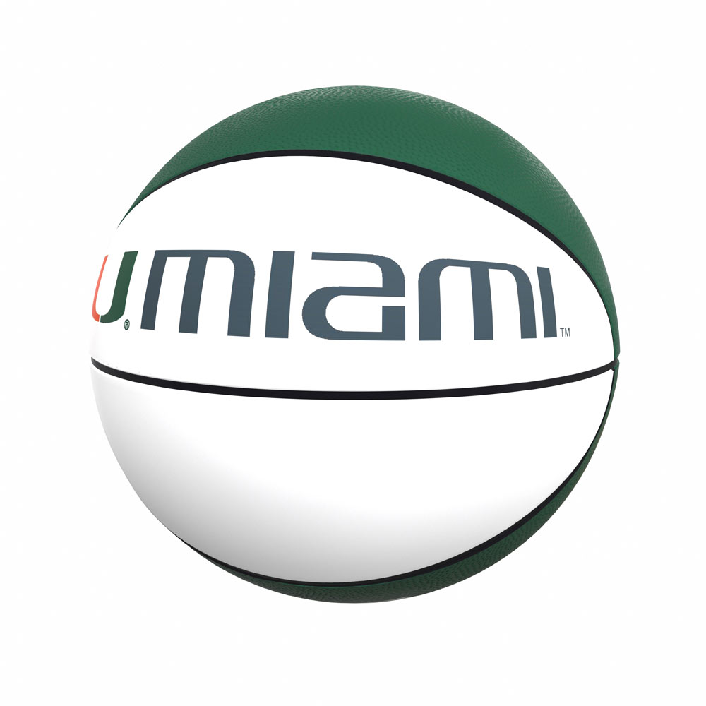 Miami Hurricanes Official Size Autograph Basketball