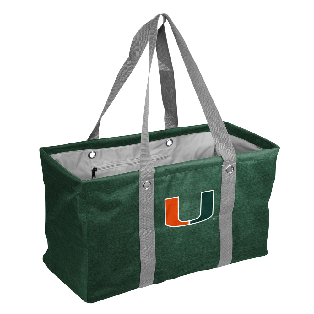 Miami Hurricanes Crosshatch Picnic Caddy