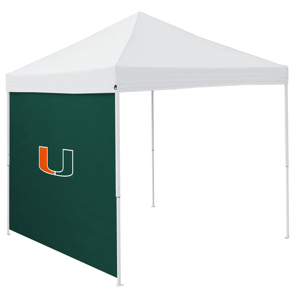 Miami Hurricanes Tailgate Canopy Side Panel