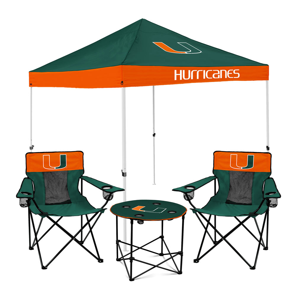 Miami Hurricanes Tailgate Bundle