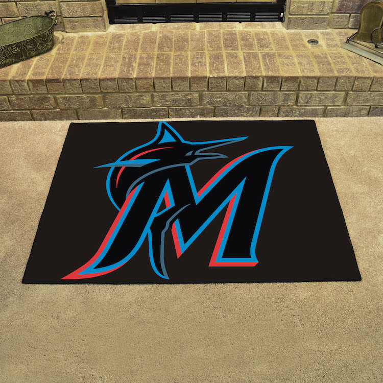 Miami Marlins ALL STAR 34 x 45 Floor Mat