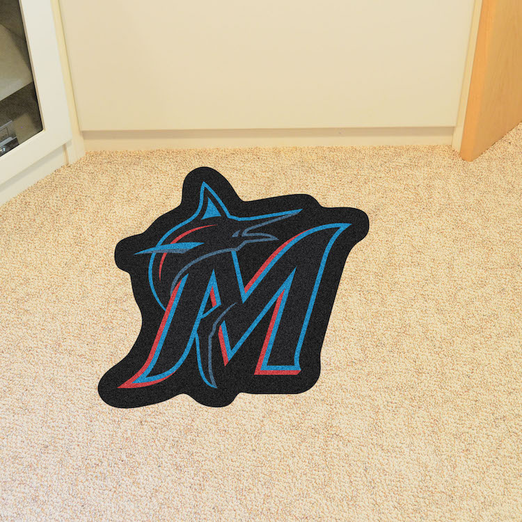 Miami Marlins MLB MASCOT Mat