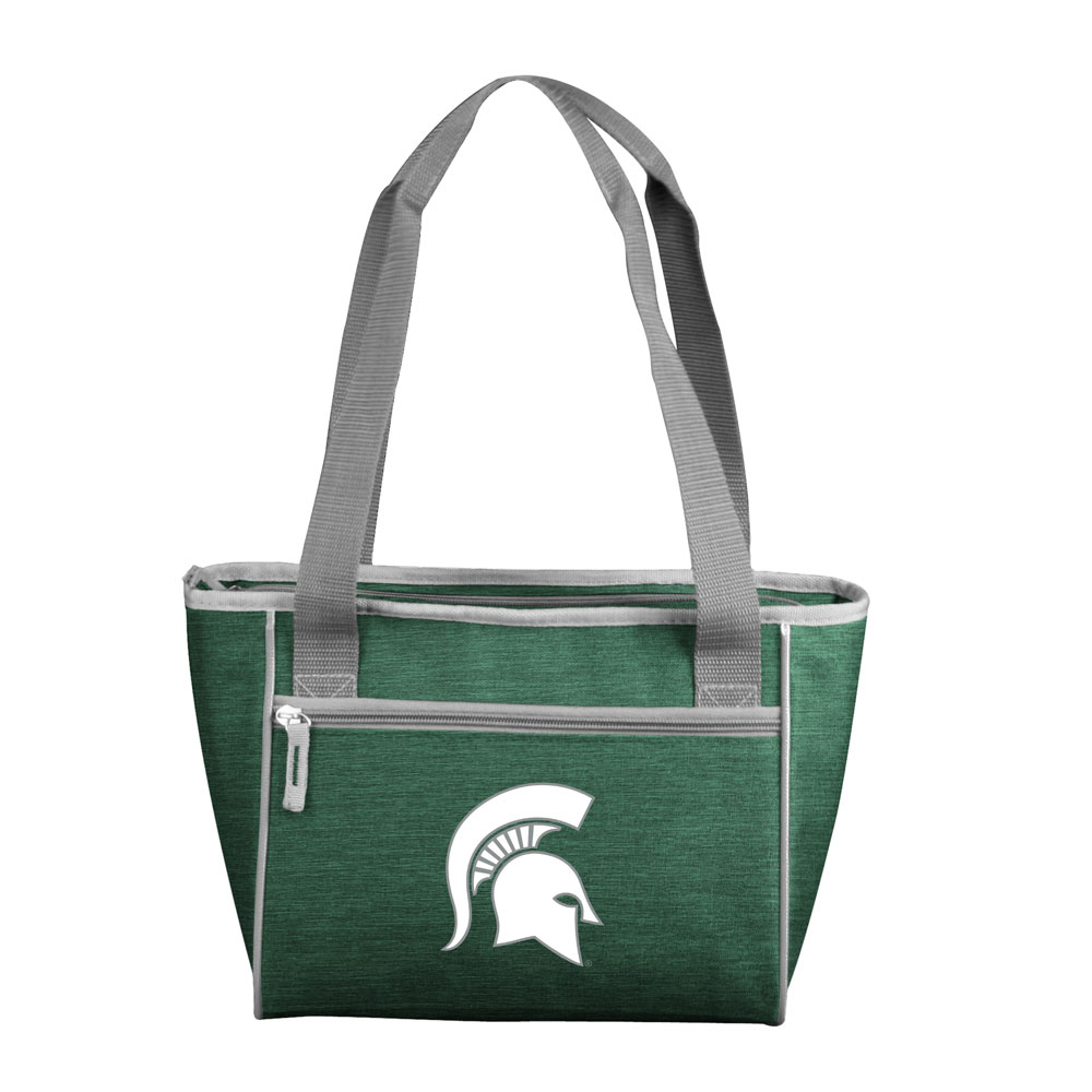 Michigan State Spartans Crosshatch 16 Can Cooler Tote