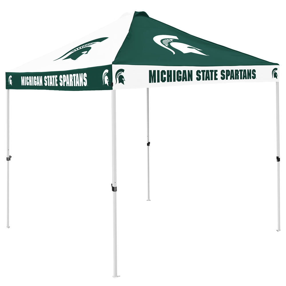 Michigan State Spartans Checkerboard Tailgate Canopy