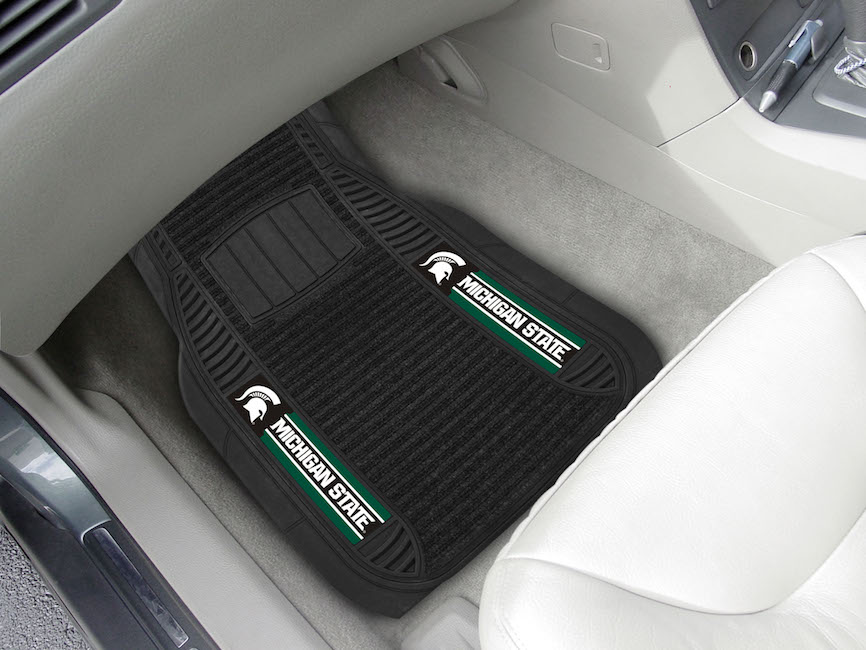 Michigan State Spartans Deluxe 20 x 27 Car Floor Mats