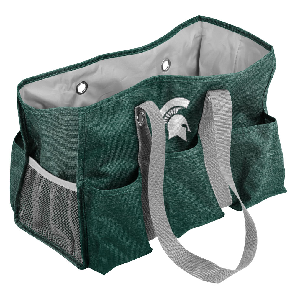 Michigan State Spartans Crosshatch Junior Picnic Caddy