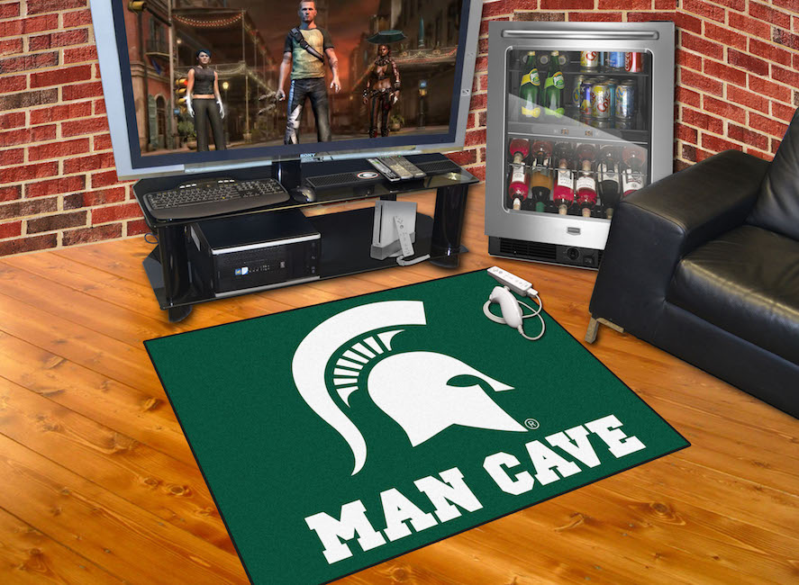 Michigan State Spartans ALL STAR 34 x 45 MAN CAVE Floor Mat