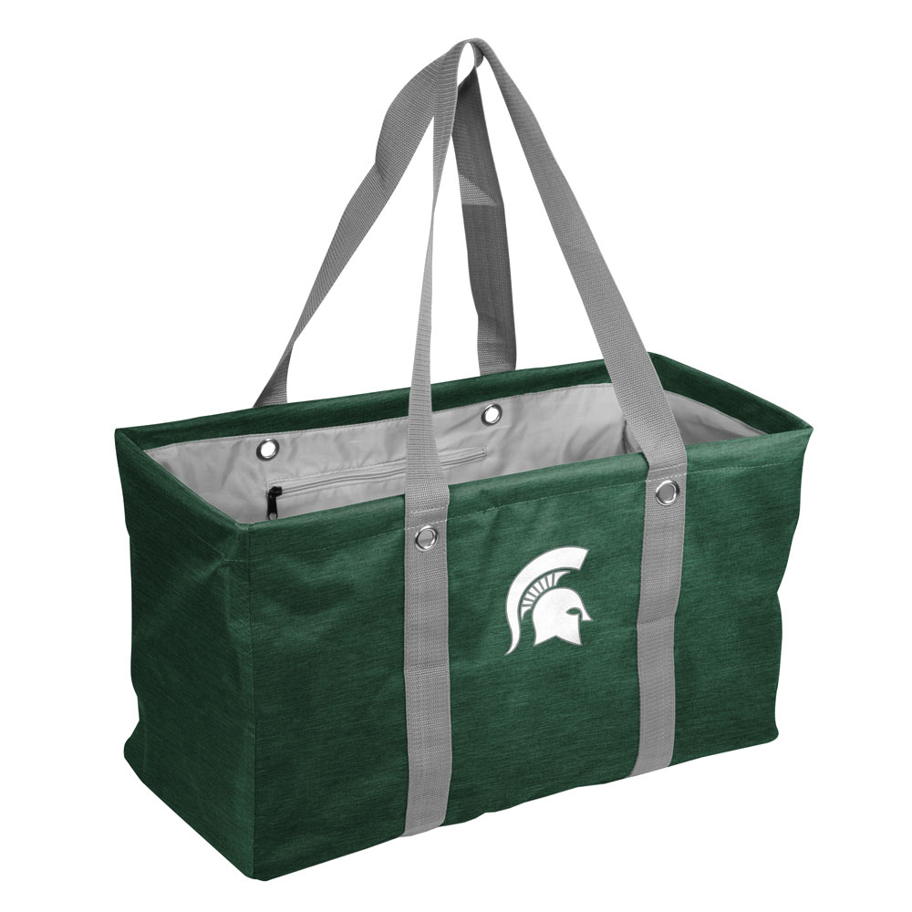 Michigan State Spartans Crosshatch Picnic Caddy