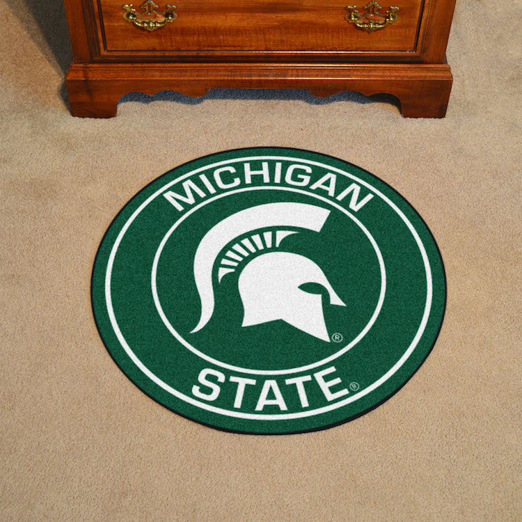 Michigan State Spartans Roundel Mat