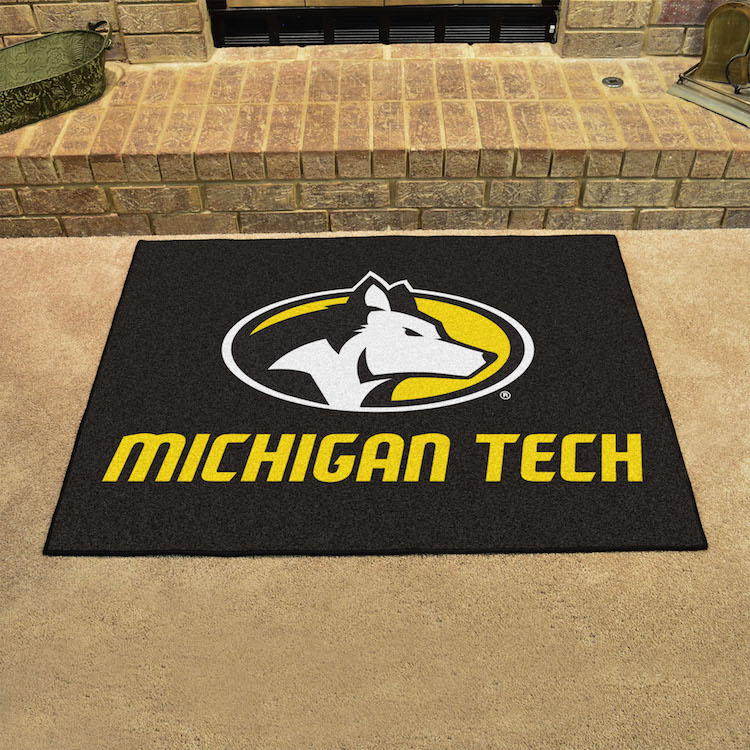 Michigan Tech Huskies ALL STAR 34 x 45 Floor Mat