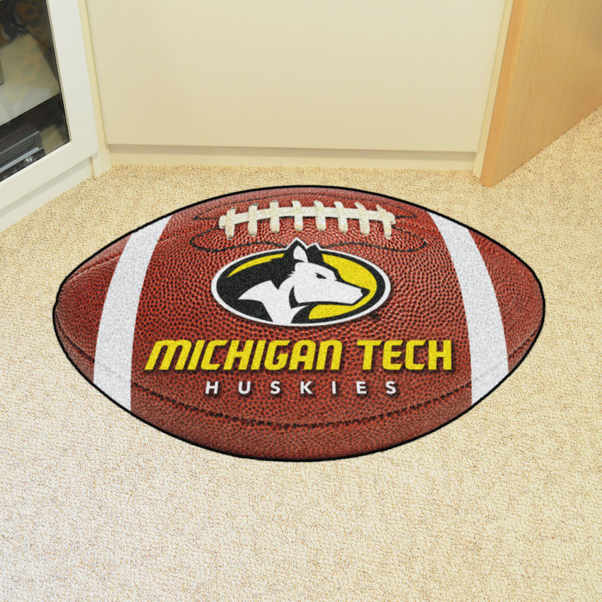 Michigan Tech Huskies 22 x 35 FOOTBALL Mat