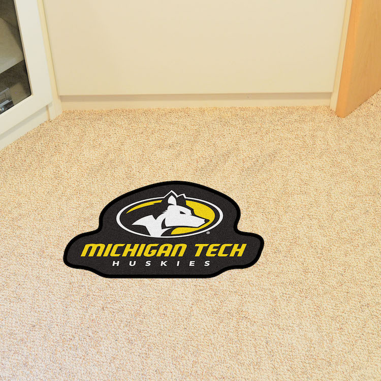 Michigan Tech Huskies MASCOT 36 x 48 Floor Mat