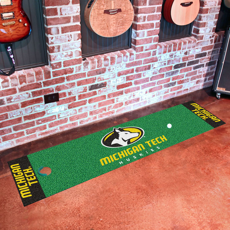 Michigan Tech Huskies Putting Green Mat 18 x 72