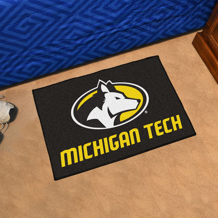 Michigan Tech Huskies 20 x 30 STARTER Floor Mat