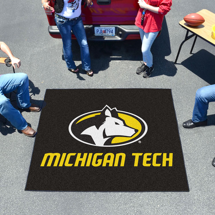 Michigan Tech Huskies TAILGATER 60 x 72 Rug