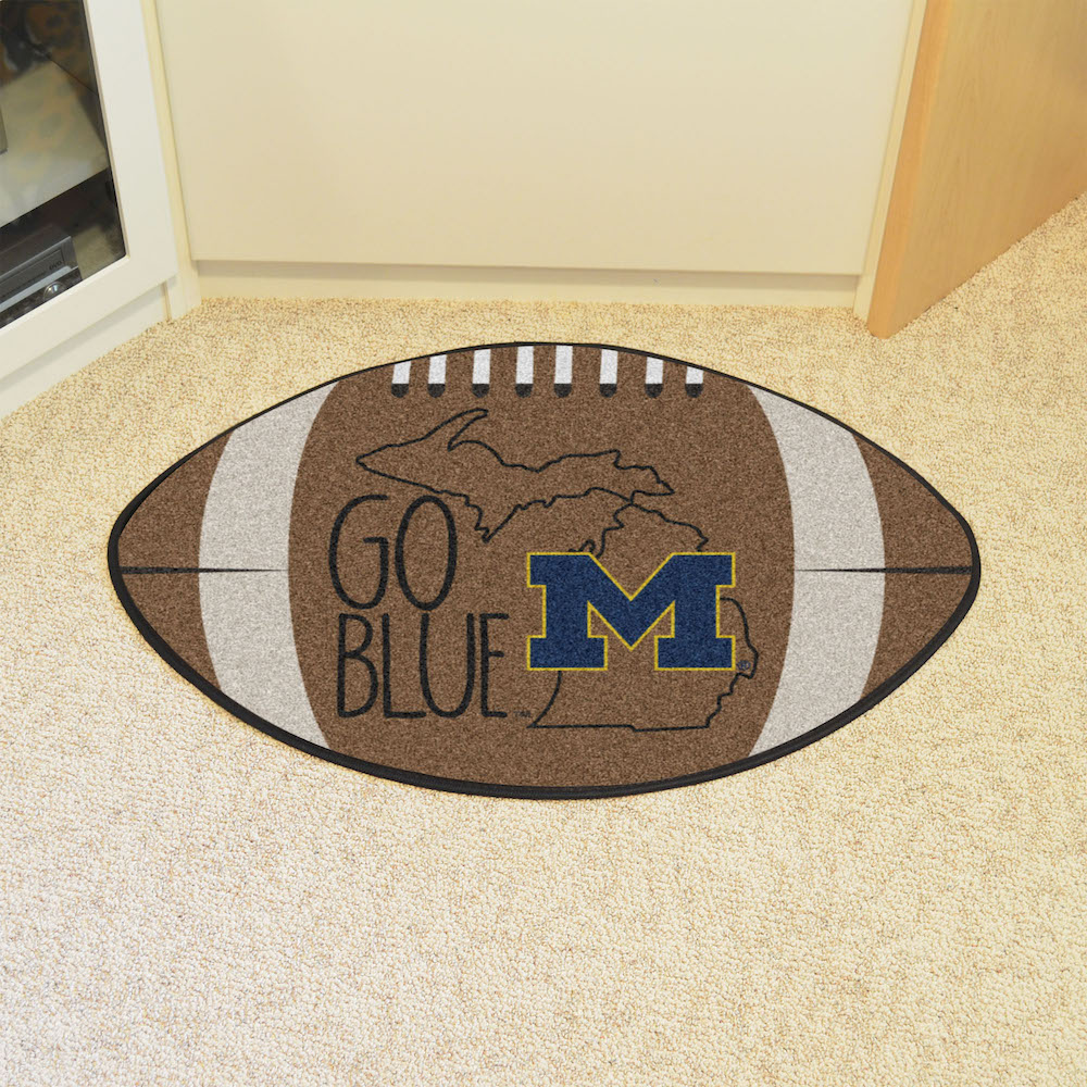 Michigan Wolverines SOUTHERN STYLE 22 x 35 Football Mat
