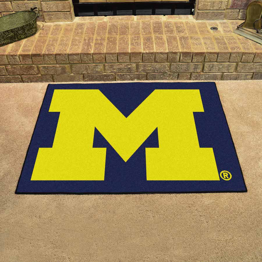 Michigan Wolverines ALL STAR 34 x 45 Floor Mat