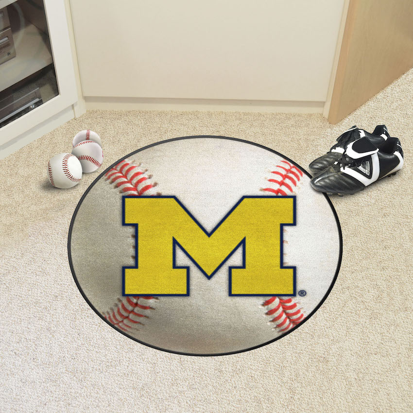 Michigan Wolverines BASEBALL Mat