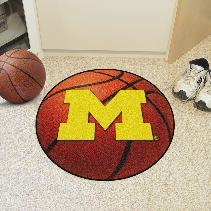 Michigan Wolverines BASKETBALL Mat
