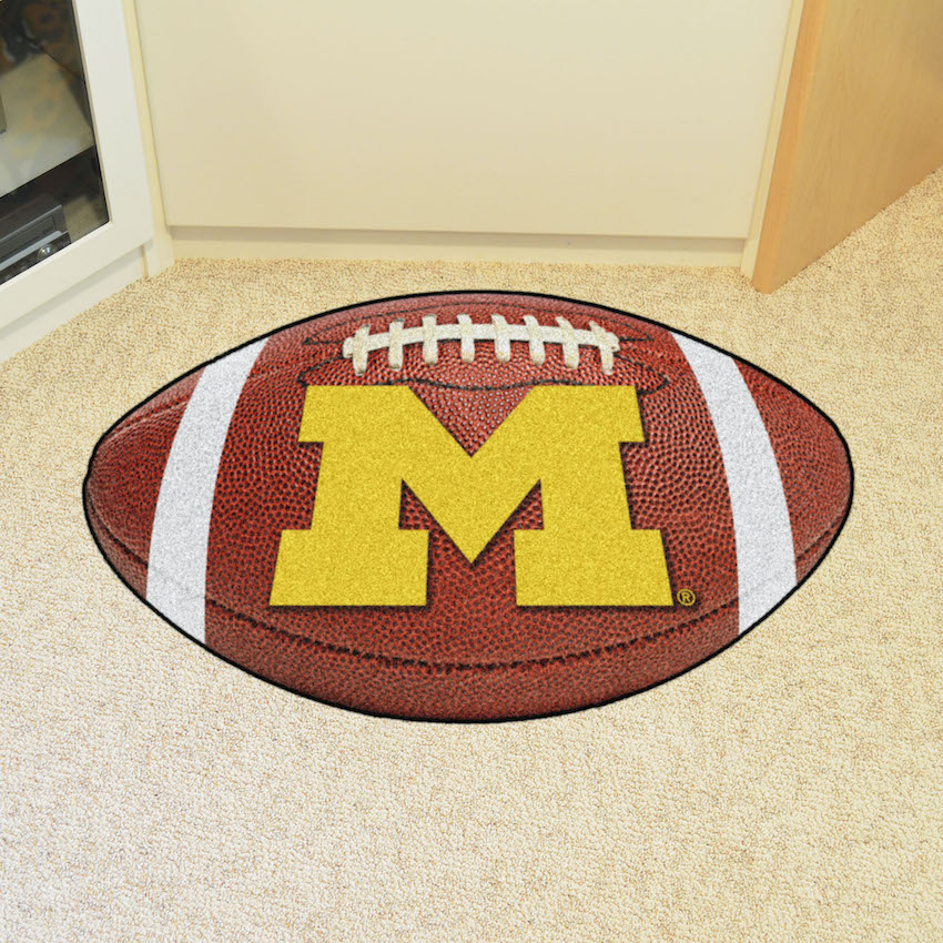 Michigan Wolverines 22 x 35 FOOTBALL Mat