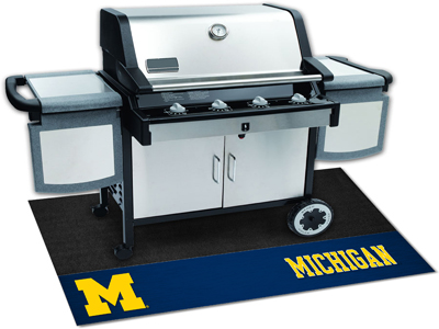 Michigan Wolverines NCAA Grill Mat