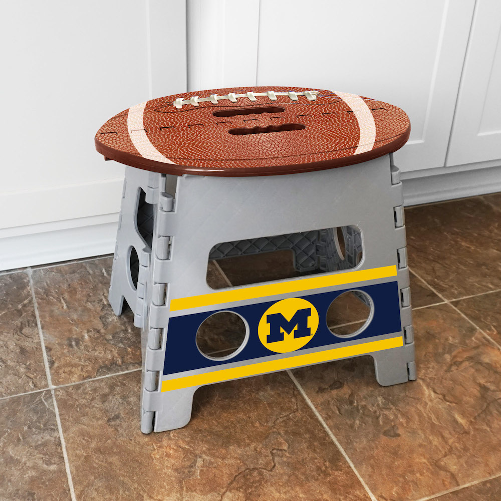 Michigan Wolverines Folding Step Stool