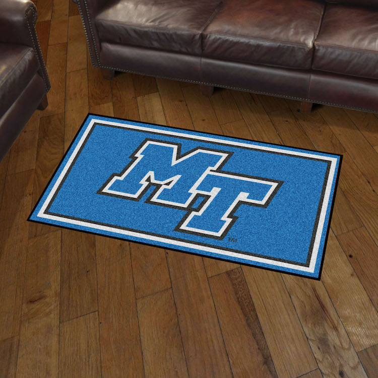Middle Tennessee State Blue Raiders 3x5 Area Rug