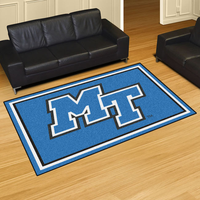 Middle Tennessee State Blue Raiders 5x8 Area Rug