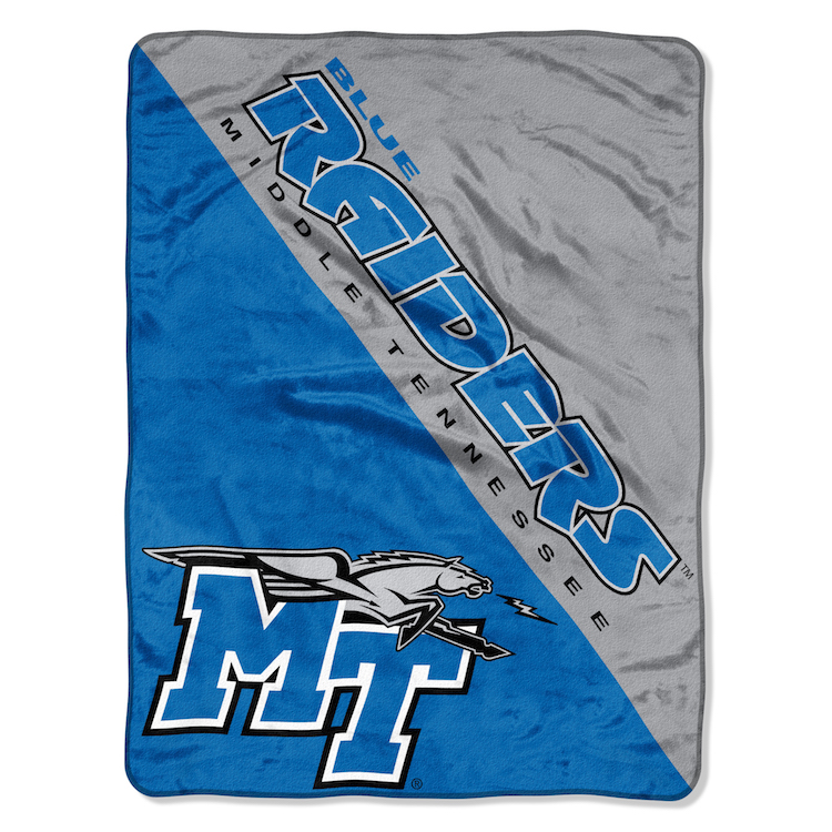 Middle Tennessee State Blue Raiders Micro Raschel 50 x 60 Team Blanket