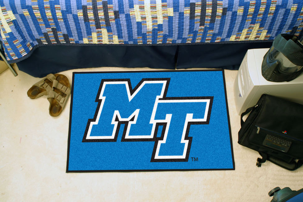 Middle Tennessee State Blue Raiders 20 x 30 STARTER Floor Mat