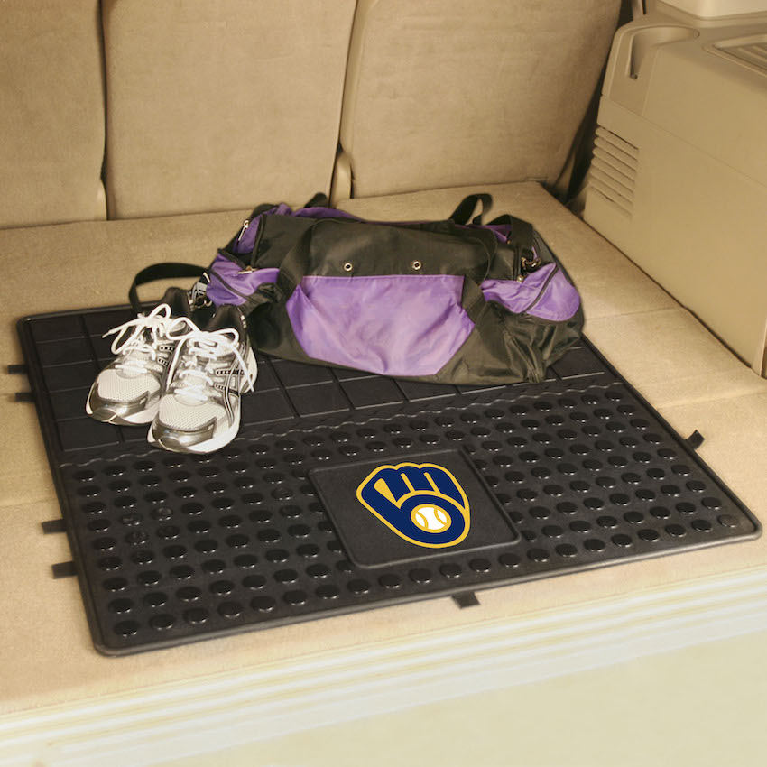Milwaukee Brewers Heavy Duty Vinyl Cargo Mat