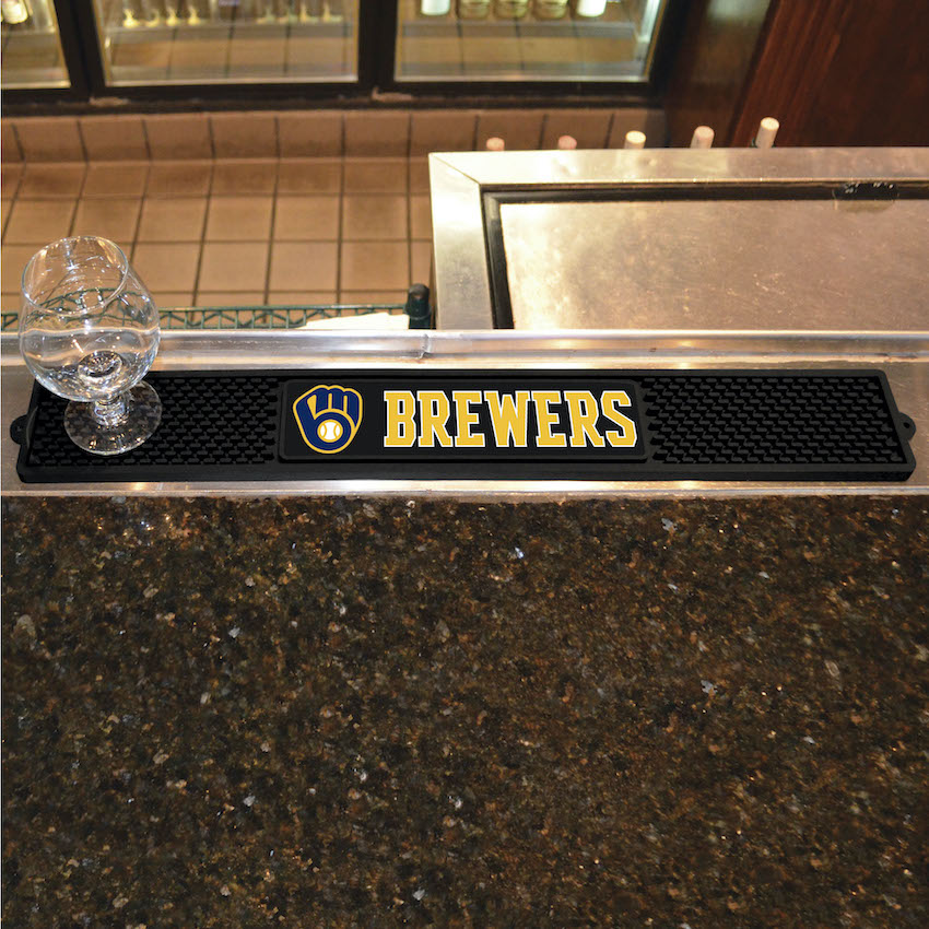 Milwaukee Brewers Bar Drink Mat
