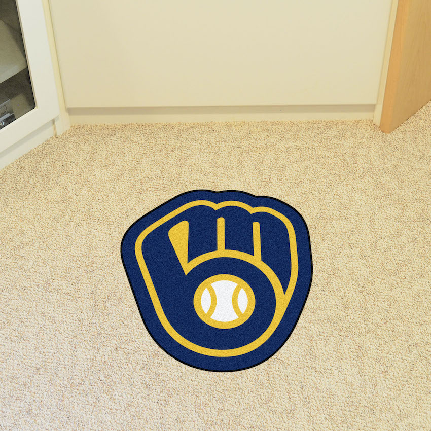 Milwaukee Brewers MLB MASCOT Mat
