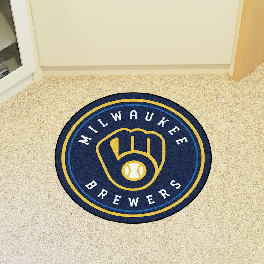 Milwaukee Brewers Roundel Mat