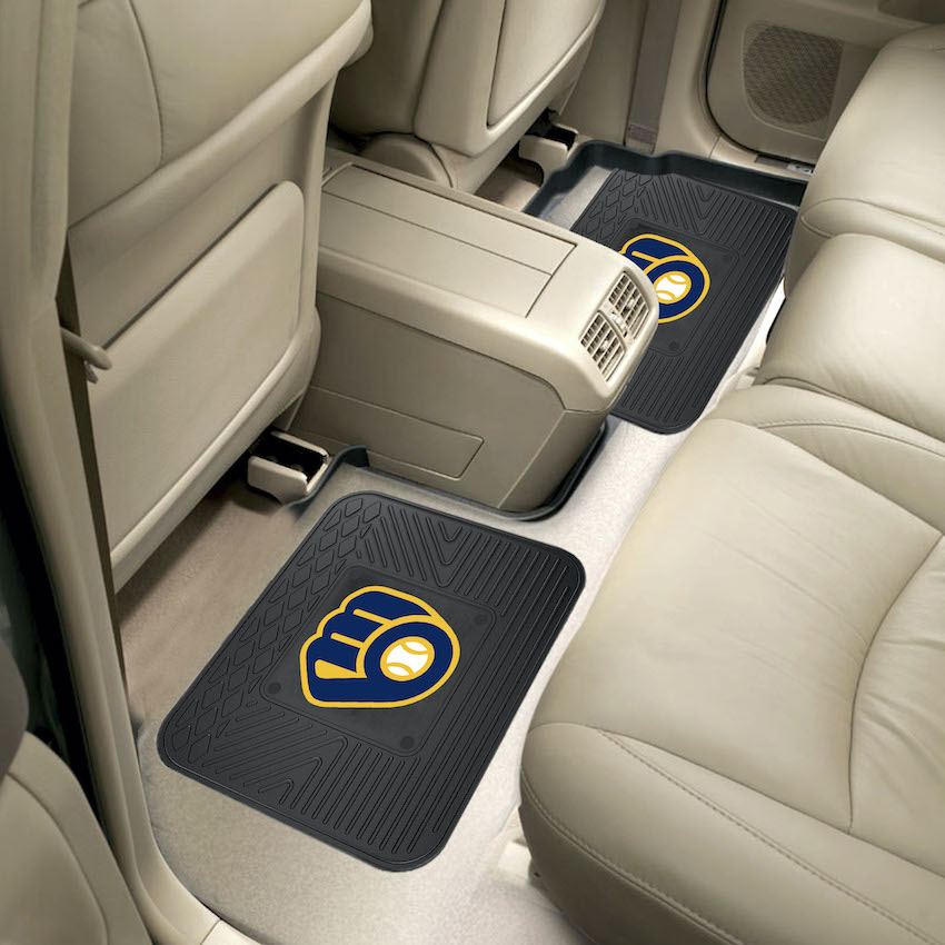 Milwaukee Brewers Small Utility Mat (Set of 2)