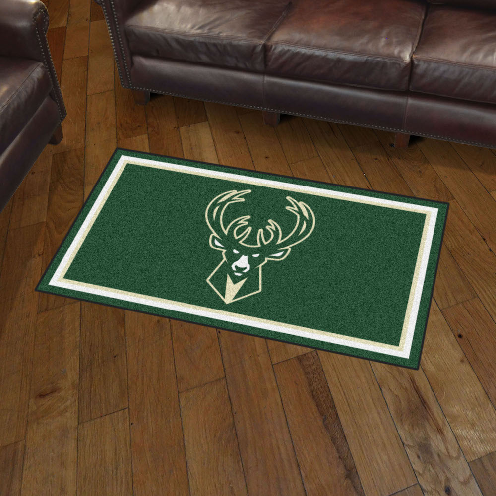 Milwaukee Bucks 3x5 Area Rug