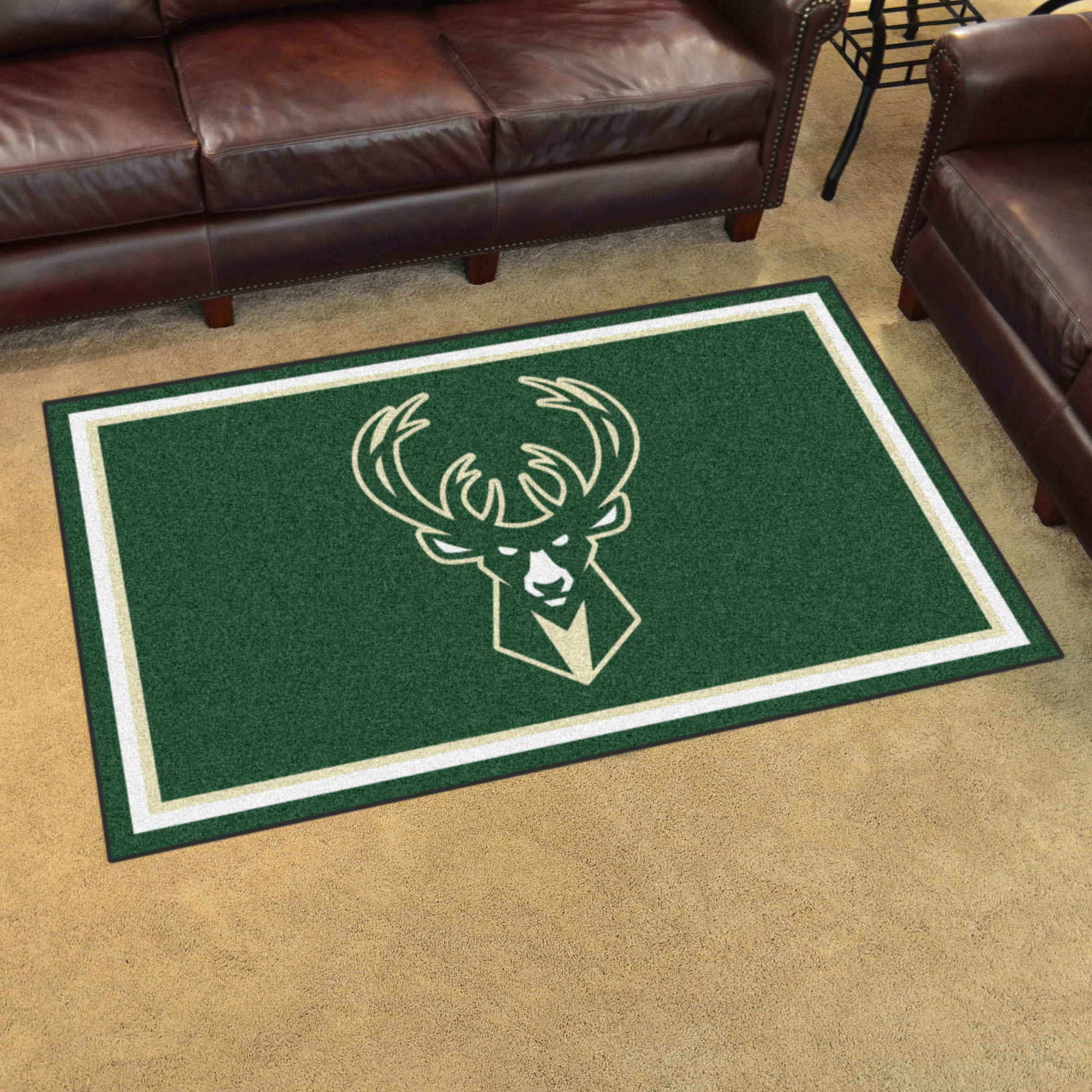 Milwaukee Bucks 4x6 Area Rug