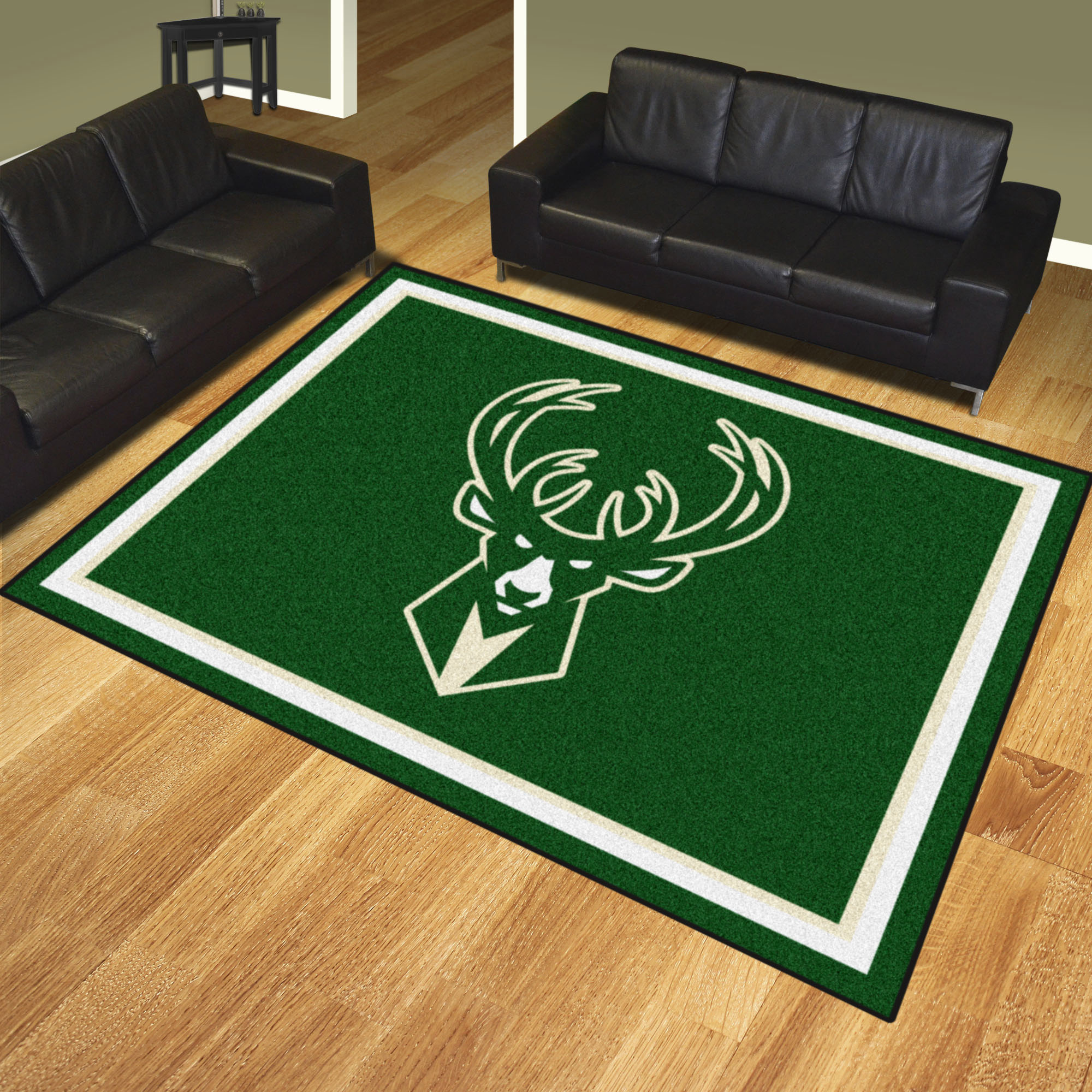 Milwaukee Bucks Ultra Plush 8x10 Area Rug