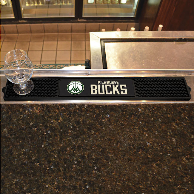 Milwaukee Bucks Bar Drink Mat